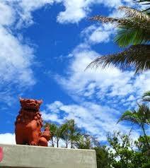 沖縄の暑い夏
